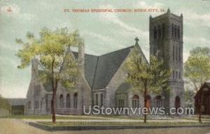 St. Thomas Episcopal Church Sioux City IA Unused