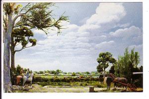 Diorama Campton Races, Stephen Foster Memorial, White Springs, Florida