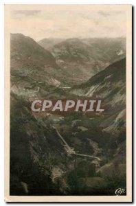 Old Postcard St Jean de Maurienne Valley Panorama on Arvan