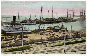 Los Angeles Harbor at San Pedro CA
