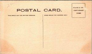 LANDSCAPE RIVER WAGON Piso's Cure for Coughs Colds Postcard - VINTAGE