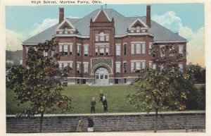 MARTINS FERRY, Ohio, 1900-1910's; High School