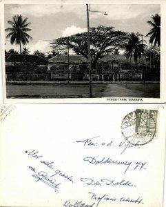 indonesia, JAVA JAKARTA, Prinsen Park (1951) RPPC Postcard