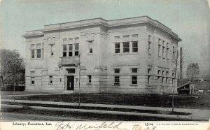LP44 Frankfort  Indiana Vintage Postcard Library