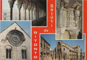 Saluti da BITONTO, unused Postcard