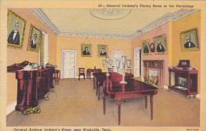 Tennessee Nashville General Andrew Jacksons Home