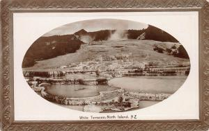 White Terraces, North Island, New Zealand, Early Postcard, Unused
