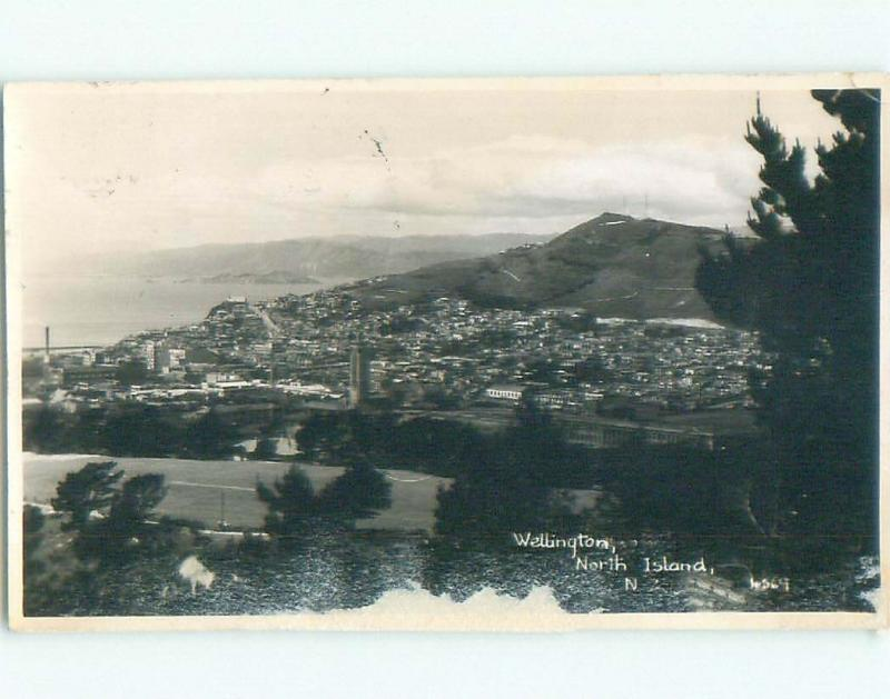 old rppc NICE VIEW Wellington - North Island New Zealand i3606