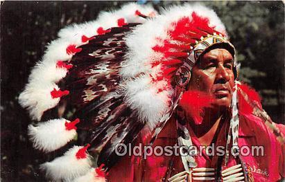 Jessie J Lossie, Cherokee Indian Cherokee Indian Reservation, NC, USA Postcar...
