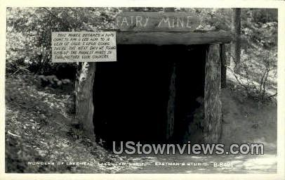 Fairy Mine Real Photo Lakehead CA Unused