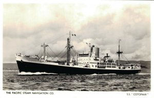 Ship s.s. The Pacific Steam Navigation CO. S.S. Cotopaxi 03.03