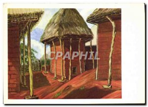 Postcard Modern Evangelical Missions of Paris Cameroon Cases of women Head