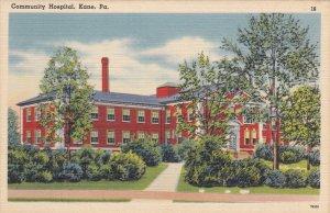 KANE, Pennsylvania, 1930-1940s; Community Hospital