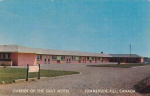 Exterior, Garden of The Gulf Motel,  Summerside,  P.E.I.,  Canada,  40-60s