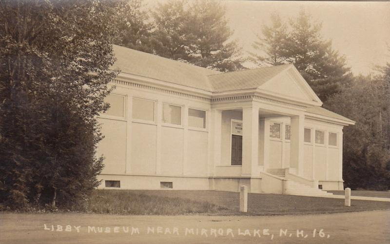 RP; Libby Museum near Mirror Lake, New Hampshire, 1910-1930s