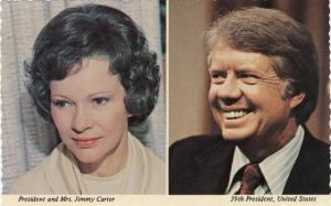 Jimmy Carter and Rosalynn 39th US President