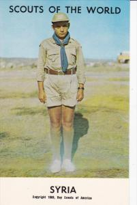 Boy Scouts of the World, SYRIA, 1960´s