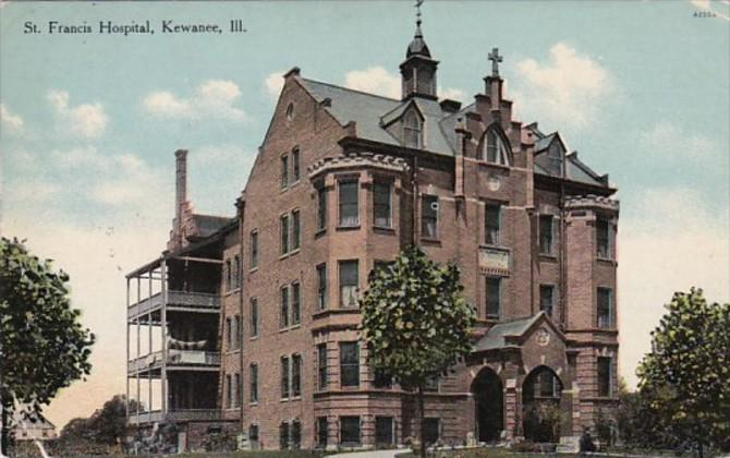 Illinois Kewanee St Francis Hospital 1909