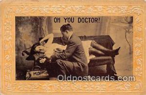 Doctor  Postcards Post Cards Old Vintage Antique  Doctor
