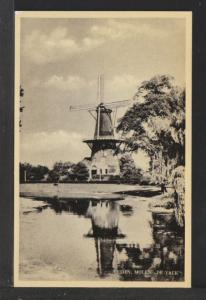 Windmill Netherlands Postcard