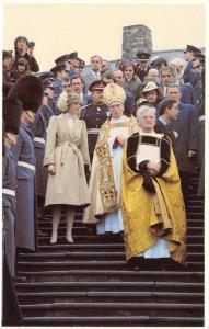 Postcard Royal Wedding 1981, Charles & Diana, at St. Davids 28 October 1981 #55