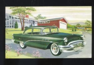 1955 BUICK 41 SPECIAL SEDAN CAR DEALER ADVERTISING POSTCARD '55 BUICK AUTOMOBILE