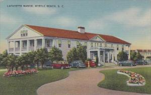Lafayette Manor Myrtle Beach South Carolina