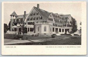 Templeton Massachusetts~or Landlord's Inn~Demolished~Now Fire Station~c1905