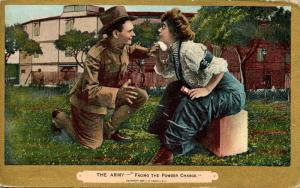 The Army - Facing the Powder Charge    (Romance)