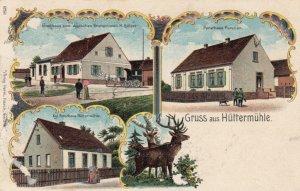 Gruss aus Huttermuhle , Germany, 1905