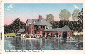 Providence Rhode Island~Copper Windows & Waves~Williams Park Boat House 1907 UDB