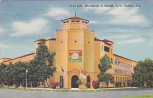 Florida Coral Gables University Of Miami
