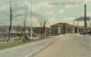 WILMINGTON, Delaware, 1900-10s ; Old Soldier's Park