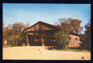 Shelburne Museum,Vermont/VT Postcard, Double Lane Bridge