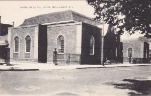 PERTH AMBOY, New Jersey , 1900-10s; United States Post Office