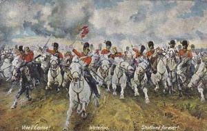 Waterloo, Walloon Brabant, Belgium, 1900-1910s : Vive l'Ecosse