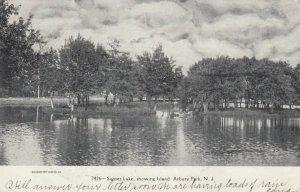 ASBURY PARK , New Jersey, 1906 ;Sunset Lake , showing Island