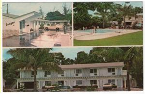 Lake Worth, Florida, Early Views of Leslynn Motel & Apartments