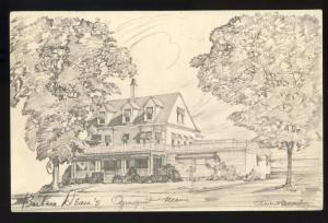 Ogunquit, Maine/ME Postcard, Barbara Dean's Restaurant