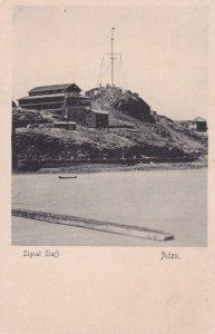 Signal Staff , Aden , Yemen , 1890s