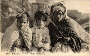 CPA Scenes et Types- Types d'Ouled Nails, ALGERIE (794231)