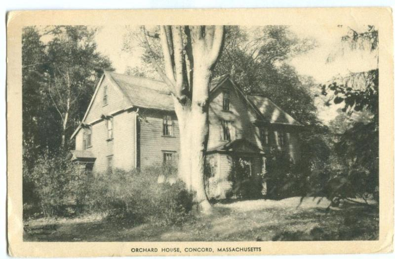 Orchard House, Concord, Massachusetts, 1956 used Postcard