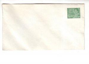 Postal Stationery, Canada, Queen Elizabeth 7 Cent Green Envelope