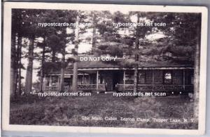 RPPC, Main Cabin, Legion Camp, Tupper Lake NY