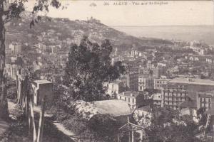 ALGER, Africa, PU-1943; Vue Sur St Eugene