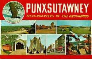 Pennsylvania Punxsutawney Headquarters Of The Groundhog Multi View