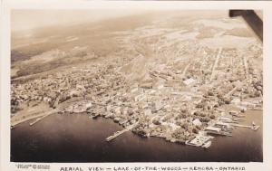 RP: KENORA, Ontario, Canada, 1946-1948; Aerial View, Lake of the Woods