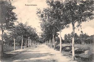 German East Africa Tanzania, Dar-Es-Salaam Kaiserstrasse