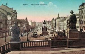 Czech Republic - Praha Vaclavske namesti 02.24
