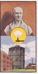 Sunblest Tea Trade Card Inventions & Discoveries 1960 No 8 Gaslight William M...